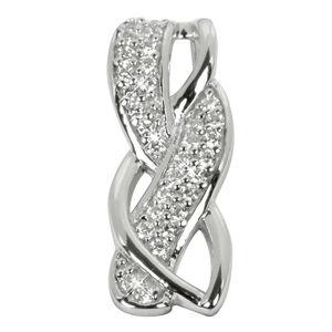 Silver Cat Stříbrný přívěsek s krystaly SC110