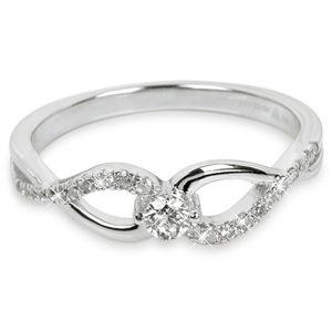 Silver Cat Stříbrný prsten se zirkony SC195 56 mm