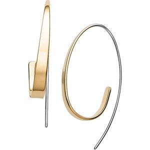 Skagen Luxusní ocelové bicolor náušnice Kariana SKJ1217998