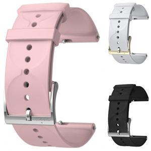 Suunto Silikonový řemínek k hodinkám Suunto 3 a Suunto 3 Fitness černý s bronzovou sponou