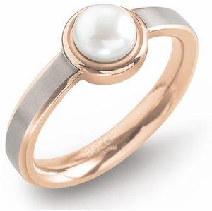 Boccia Titanium Titanový prsten s perlou 0137-02 57 mm