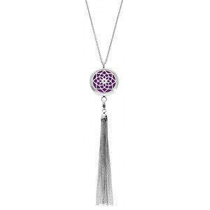 Troli Multifunkční ocelový náhrdelník Mandala s vyměnitelným středem DIFCOL02
