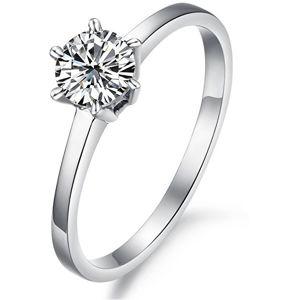 Troli Ocelový prsten s krystalem KRS-126 59 mm