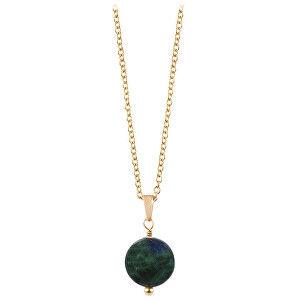 Troli Pozlacený náhrdelník s lazuritem TO2657
