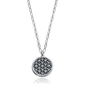 Viceroy Ocelový náhrdelník s krystaly Kiss 3226C09010