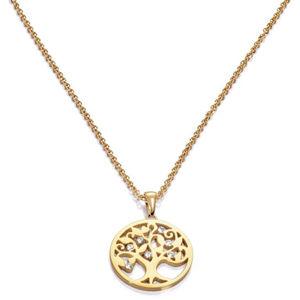 Viceroy Pozlacený náhrdelník se stromem života Happiness 80007C01012