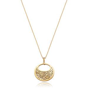 Viceroy Pozlacený náhrdelník s výrazným přívěskem Chic 75115C01012