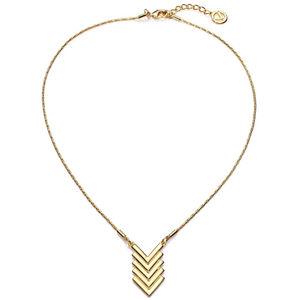 Viceroy Stylový pozlacený náhrdelník Fashion 3211C19012
