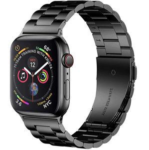 Wotchi Ocelový tah pro Apple Watch - Černý 38/40 mm