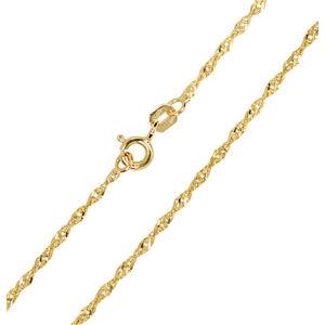 Brilio Zlatý dámský řetízek Lambáda 45 cm 271 115 00176